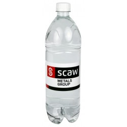 Branded bottled water 1L